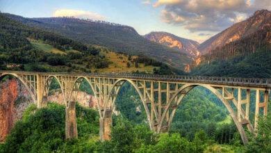 Photo of Мост Джурджевича через реку Тара в Черногории
